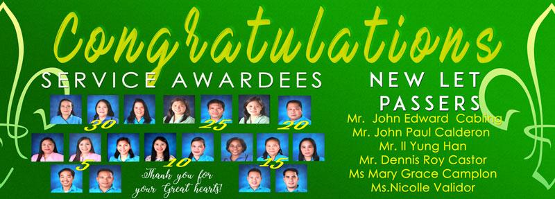 SPCP Congratulates the 2019 Service Awardees