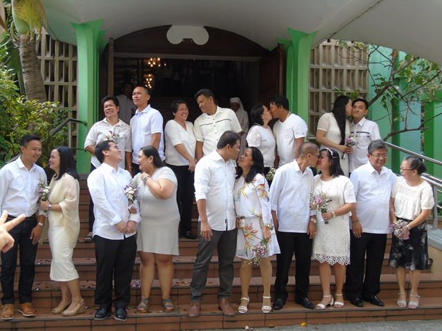 Wedding Vows Renewed at SPCP